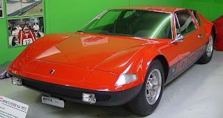 Monteverdi 450 GTS Rojo y Nergro prodedente del Museo Monteverdi
