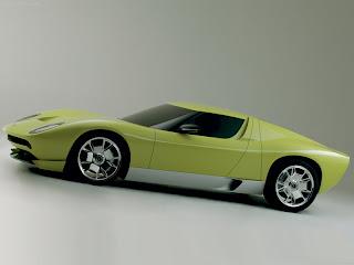 Lamborghini Miura Concept Vista Lateral