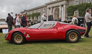 Alfa Romeo 33 Stradale Prototipo vista lateral