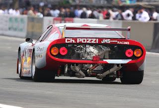 Ferrari 512 BB LM Trasera