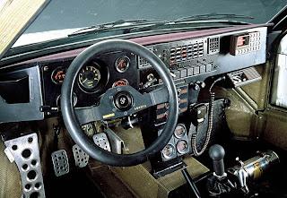 Lancia Delta S4 Interior