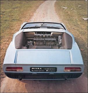 Lamborghini Miura Roadster: Imágenes e Historia