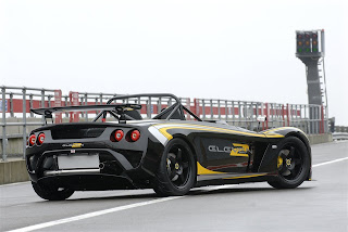 Vista Trasera Lotus Eleven 2