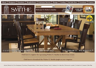 walter e smithe chicago furniture stores