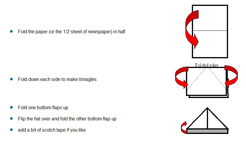 How To Make A Boat Hat Out Of Paper Download Sailing Boat Plans