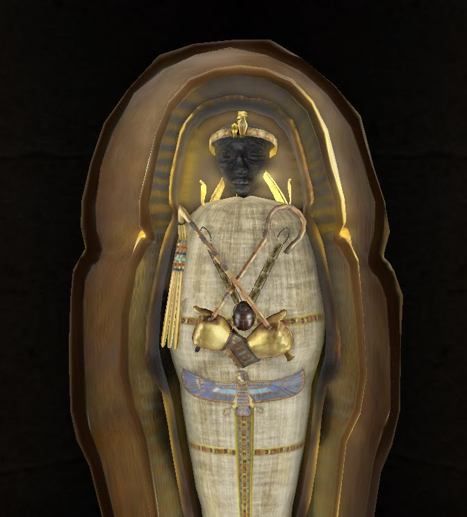 The gallery for --> King Tut Mummy Wrapped
