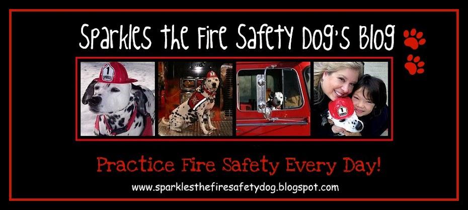 Sparkles the Fire Safety Dog
