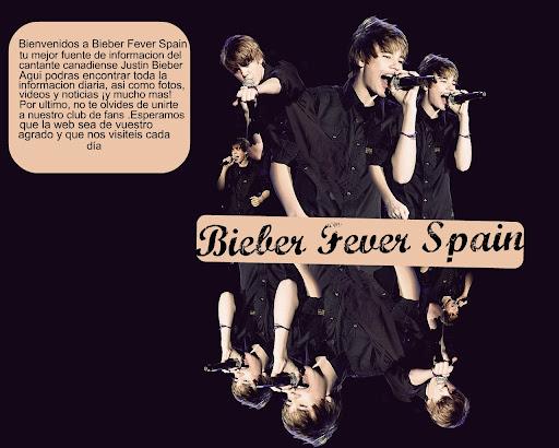 Bieber Fever Spain. Tu mejor fuente de informacion de Justin Bieber. Club de fans español.