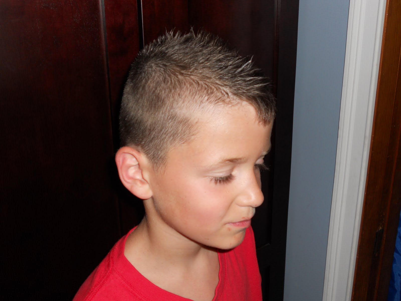 Boy Faux Hawk Haircut