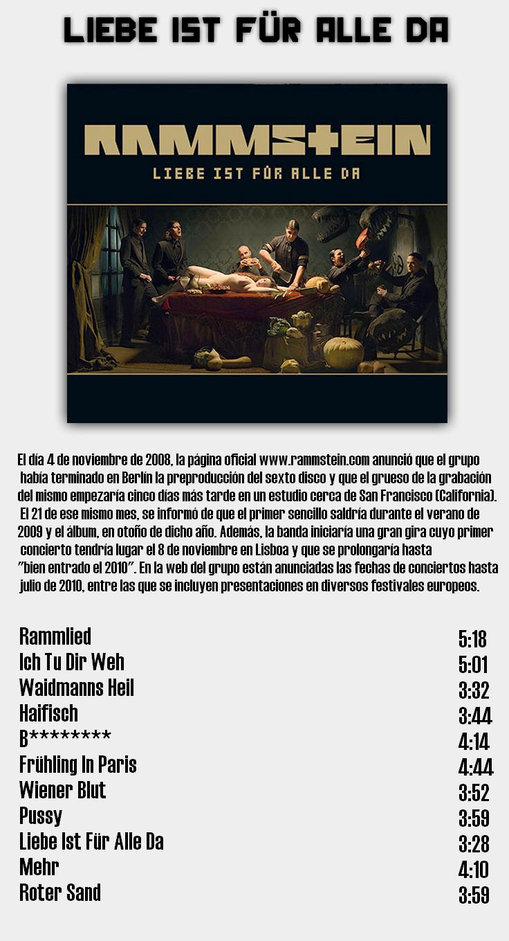 Rammstein - Discografia de estudio completa en calidad 320Kbps [MU] 8
