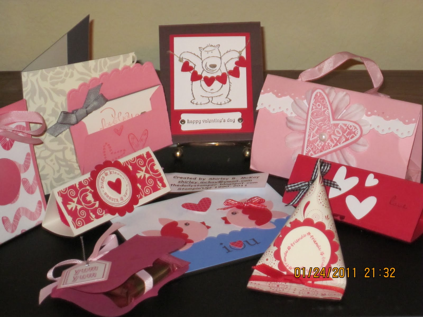 The Daily Stamper: Stampin\'Up! Various Valentine Ideas From 2010
