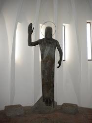 Statue in der östlichen Kapelle