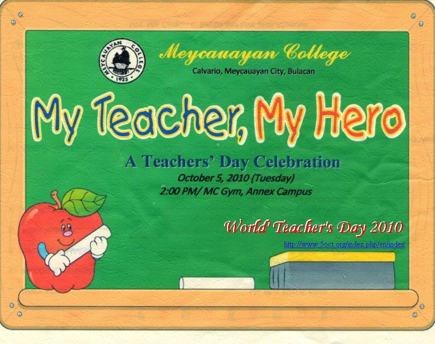 Oktober Hari Guru Sedunia
