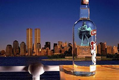статуя на свободата креатив водка