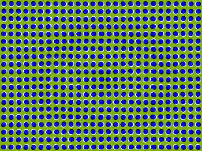 Anomalous Motion Illusion