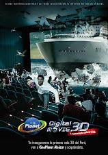 La tecnología 3D, ya está en Cineplanet
