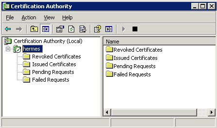 Clint boessens blog certificate authority standalone or enterprise in this screenshot we have a stand alone ca yelopaper Gallery