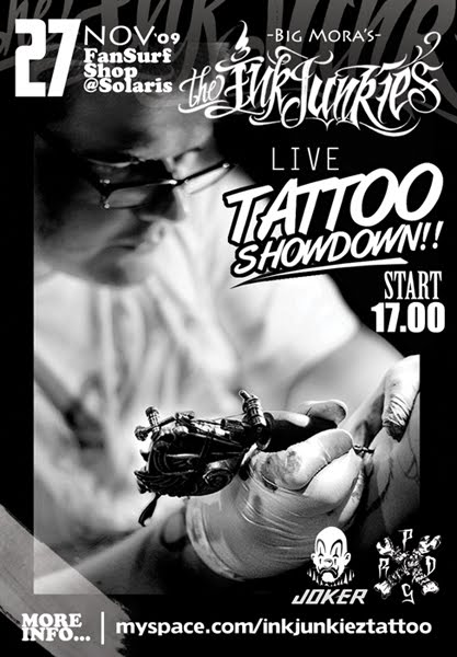 boogie down tallinn art design tattoos music crime papa tattoo
