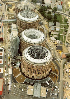 Gasometer, Wien (Photo by Peter Korrak)