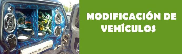 modificacion de vehiculos