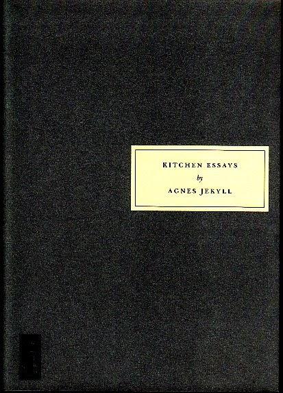 kitchen essays jekyll