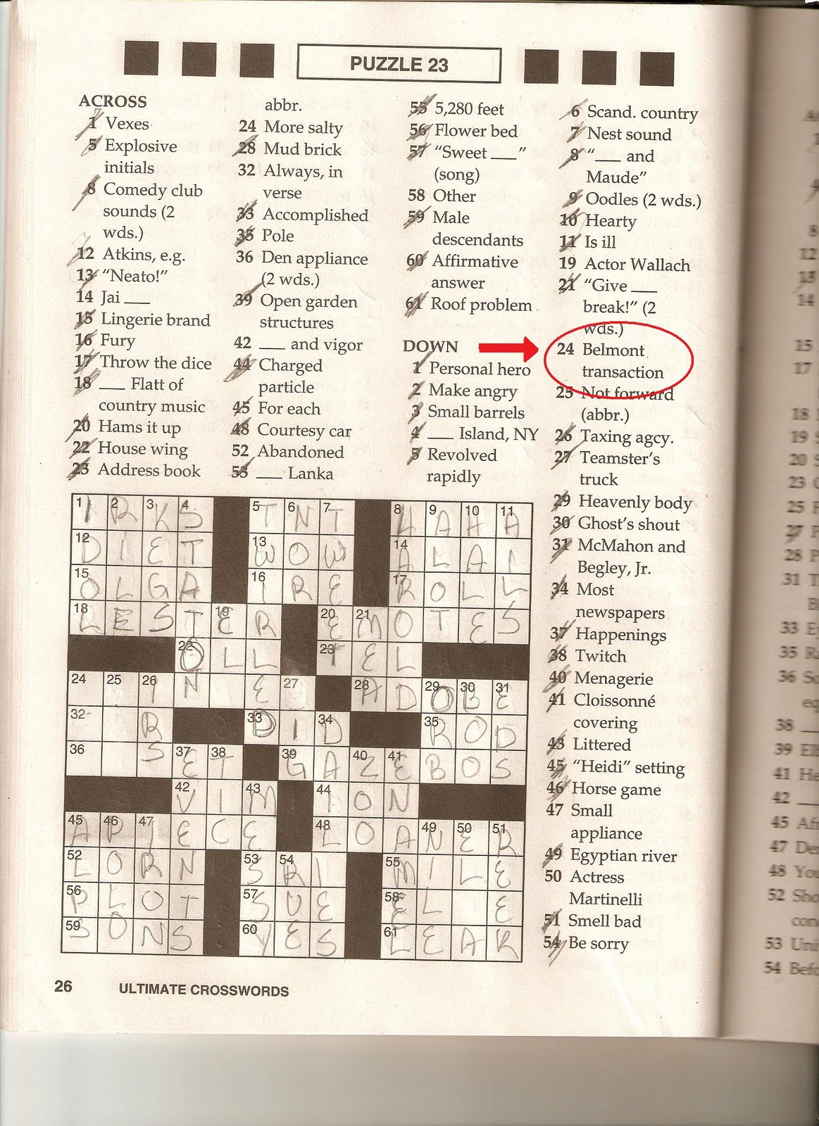 USA Today Crossword Printable