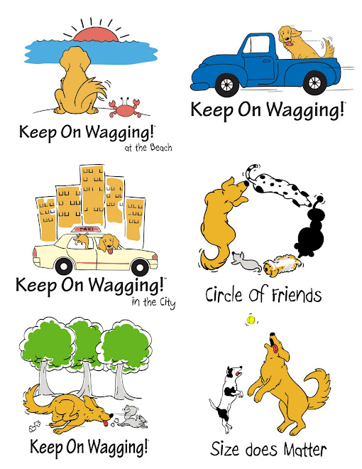 T-shirt Designs for Keep on Wagging