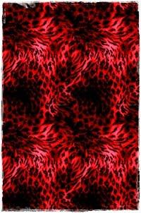 Rawr! Red Leopard