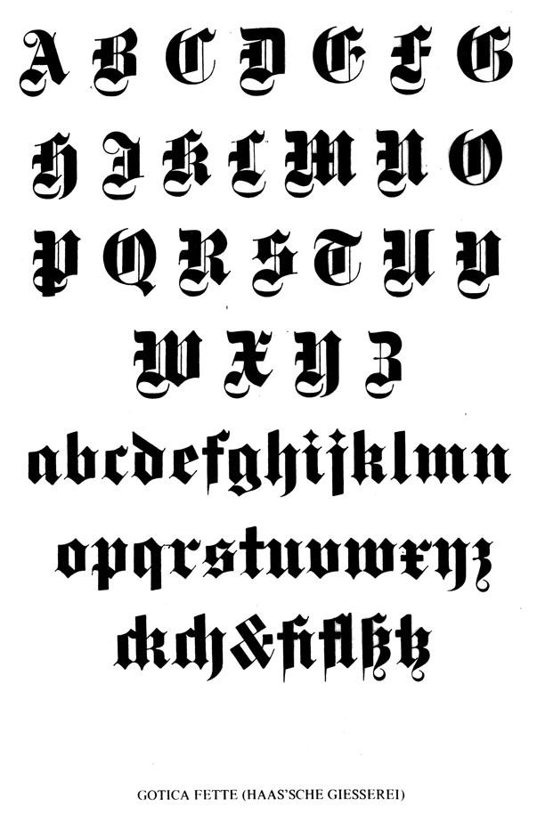 Tiponotas otra referencia en estilo gotico for Estilos de letras