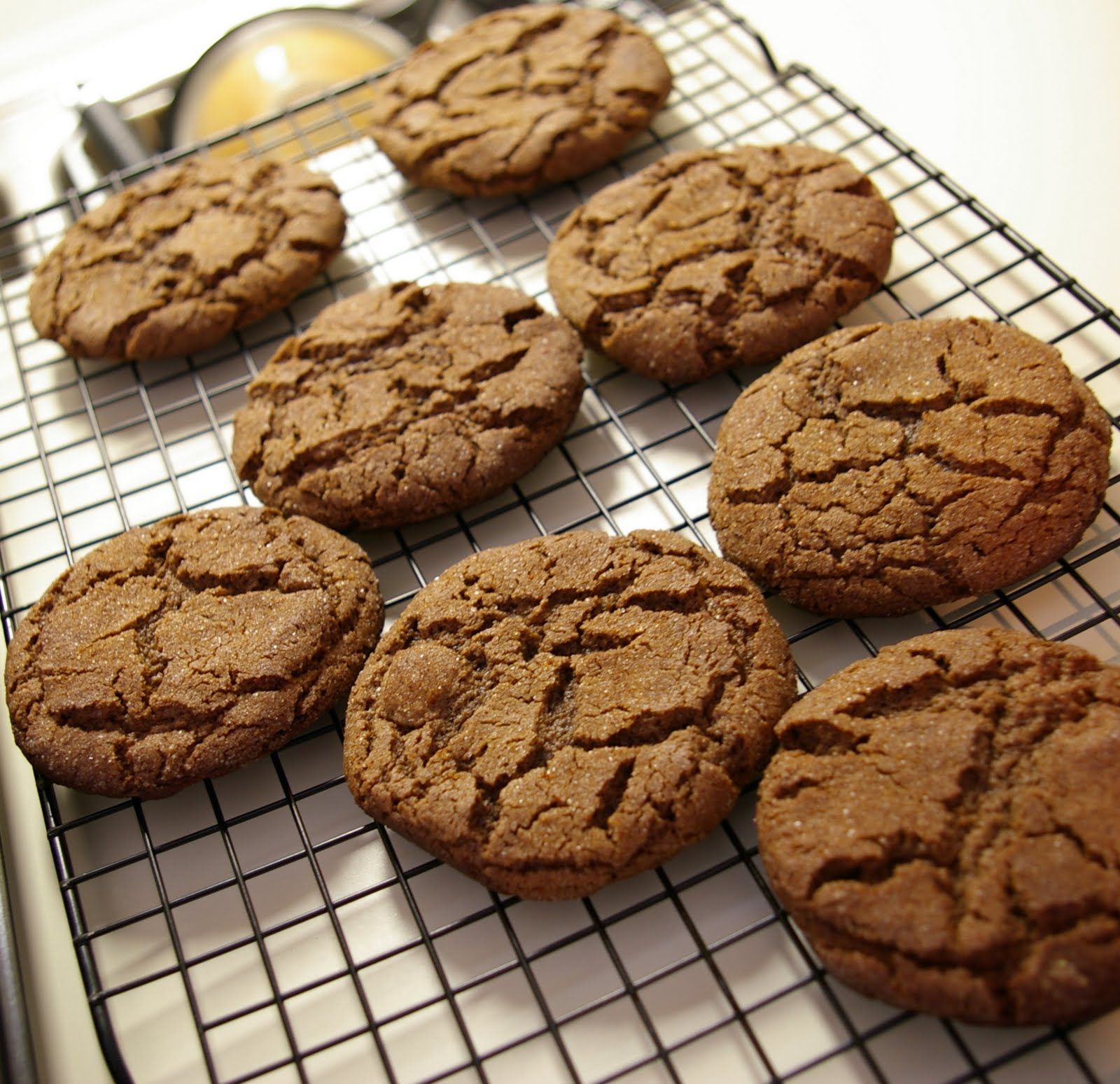After baking, allow cookies to cool on sheets on wire racks for 5 ...