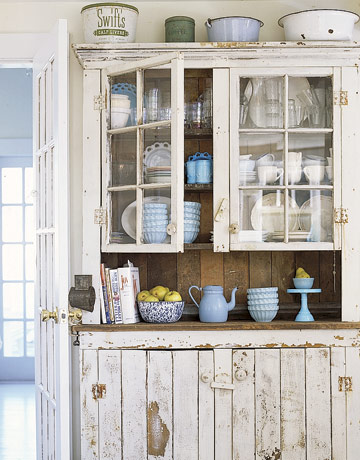 Sarah and drewb rustic cupboard for Barn style kitchen cabinets