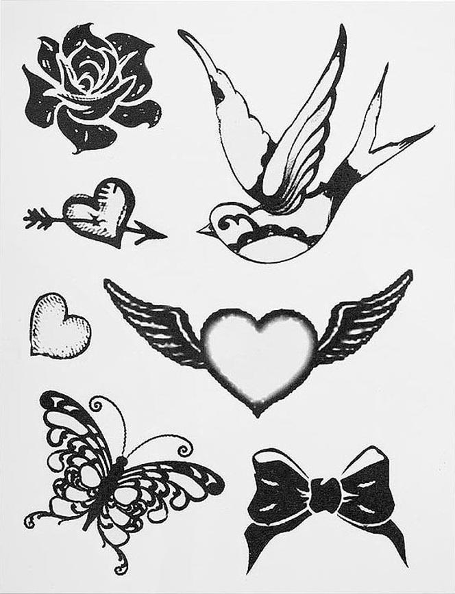 Легкие и красивые татуировки своими руками