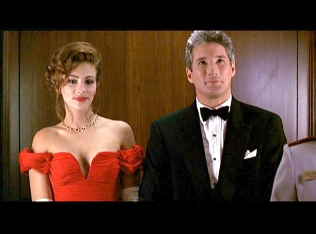 Pretty Woman Red Dress Costume the little curly girl:...