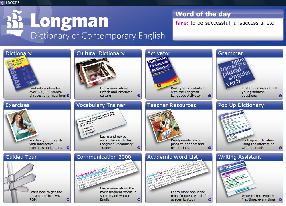 Download Longman Dictionary Of American English