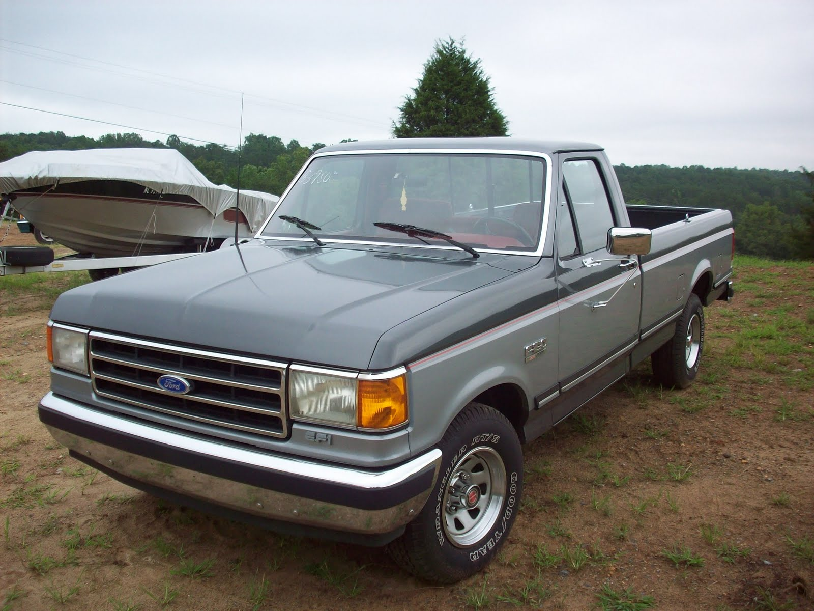 Ford F150  1989 Ford F 150  Lariat
