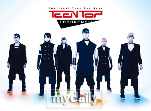 Male group TEEN TOP who's going to have their comeback revealed a unique