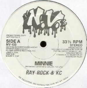 Ray Rock & K.C - Minnie & Rayrock Kick It (Vinyl, 12'' 1986)(Cutting Records)