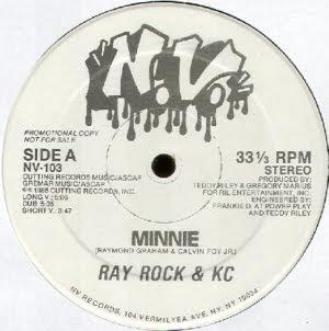 Ray Rock & K.C - Minnie & Rayrock Kick It (Vinyl, 12'' 1986)(Cutting Records)