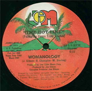 The Hot Line - Womanology (Vinyl, 12'' 1984)(Joe Gibbs Music)