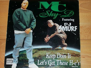 M.C. Shy-D Feat.dj Smurf - Keep Doin It (Vinyl, 12'' 1996)(Benz Records Inc.)