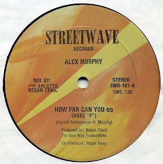 Alex Murphy - How Far Can You Go (Axel F) (Vinyl, 12'' 1986)(Streetwave Records)