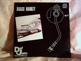 Beastie Boys - Brass Monkey (Vinyl, 12'' 1986,Maxi-Single)(Def Jam Recordings)