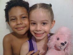 Meus sobrinhos fofos...
