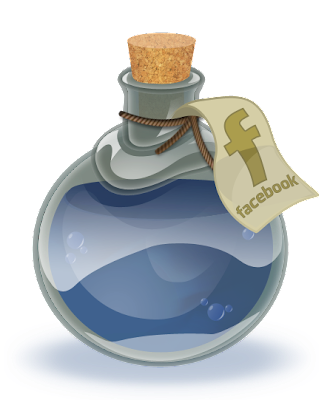 Facebook Bottle Icon Created by Alice Graphix