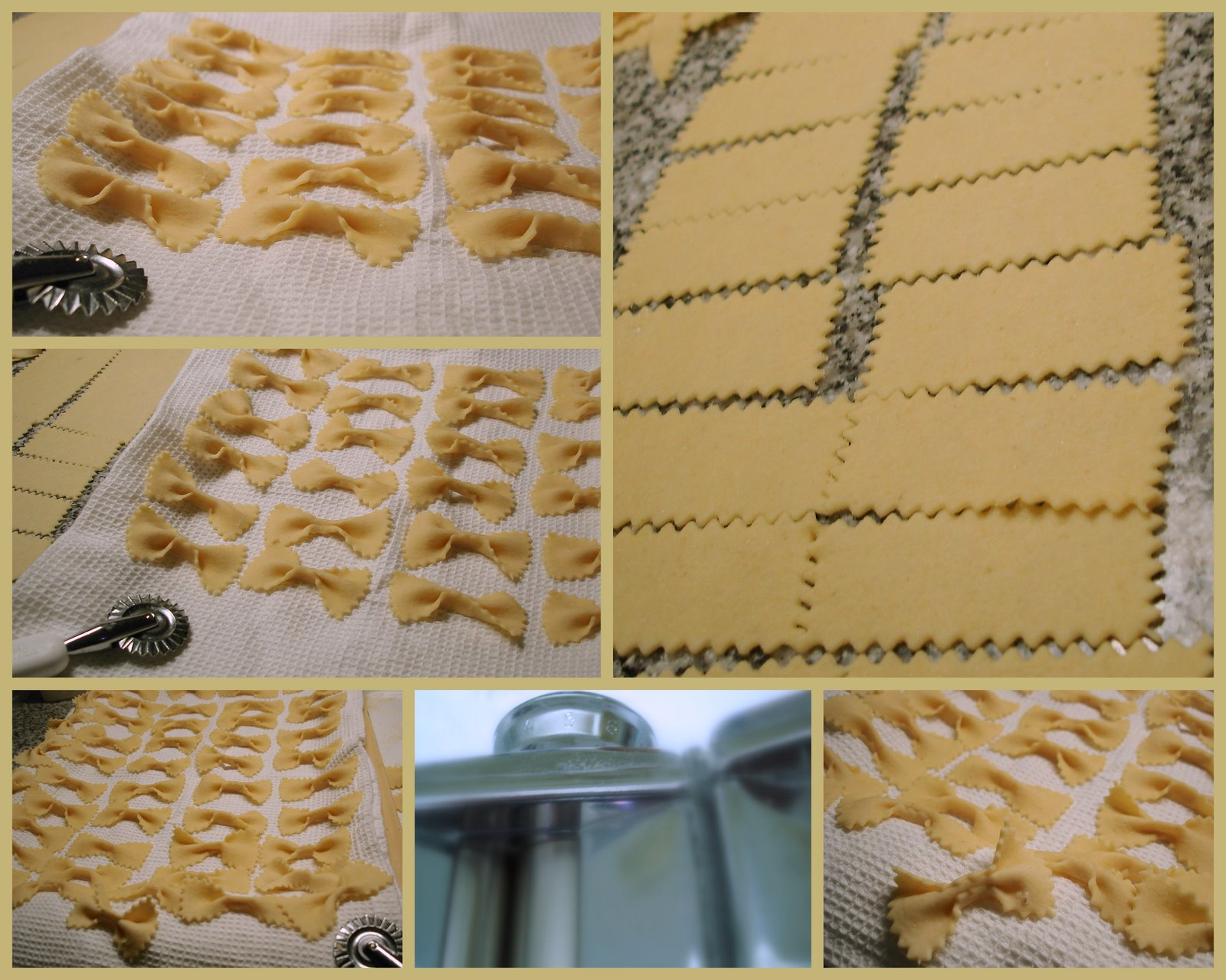 Todo caserito mo itos farfalle lacitos pasta casera - Maquina para hacer pastas caseras ...