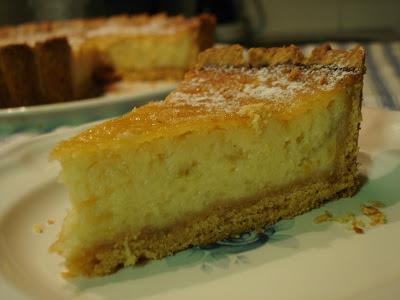 """riquísima tarta otoñal, receta de uno de los libros de """" Maru Botana"""