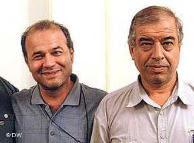 ابراهیم مددی  و منصور اسالو آزاد باید گردد