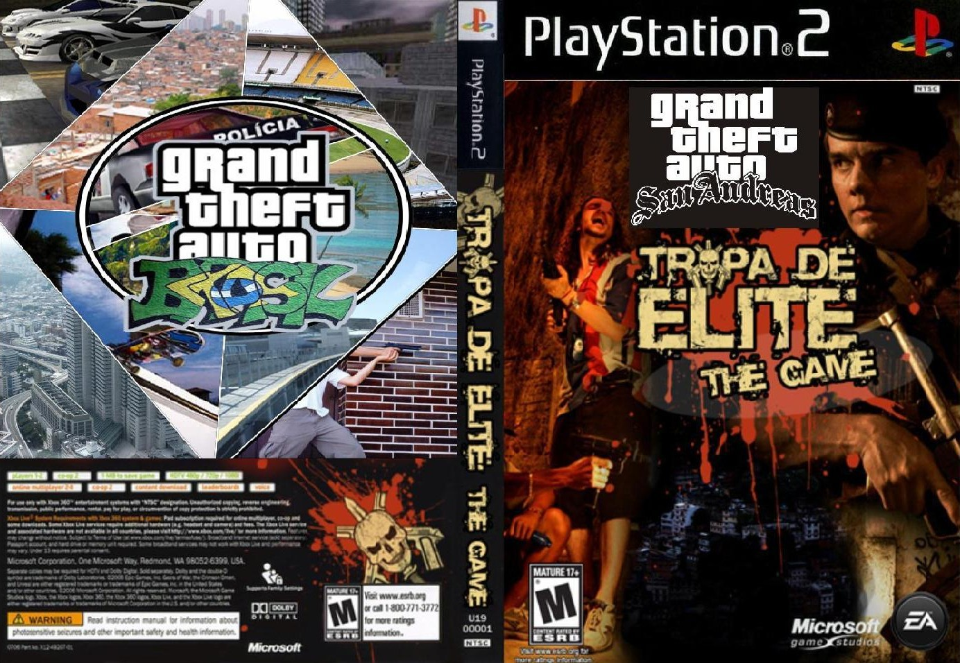Megapost gta grand theft auto san andreas tropa de elite