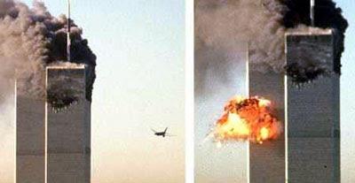 Segundo avião colide contra o World Trade Center