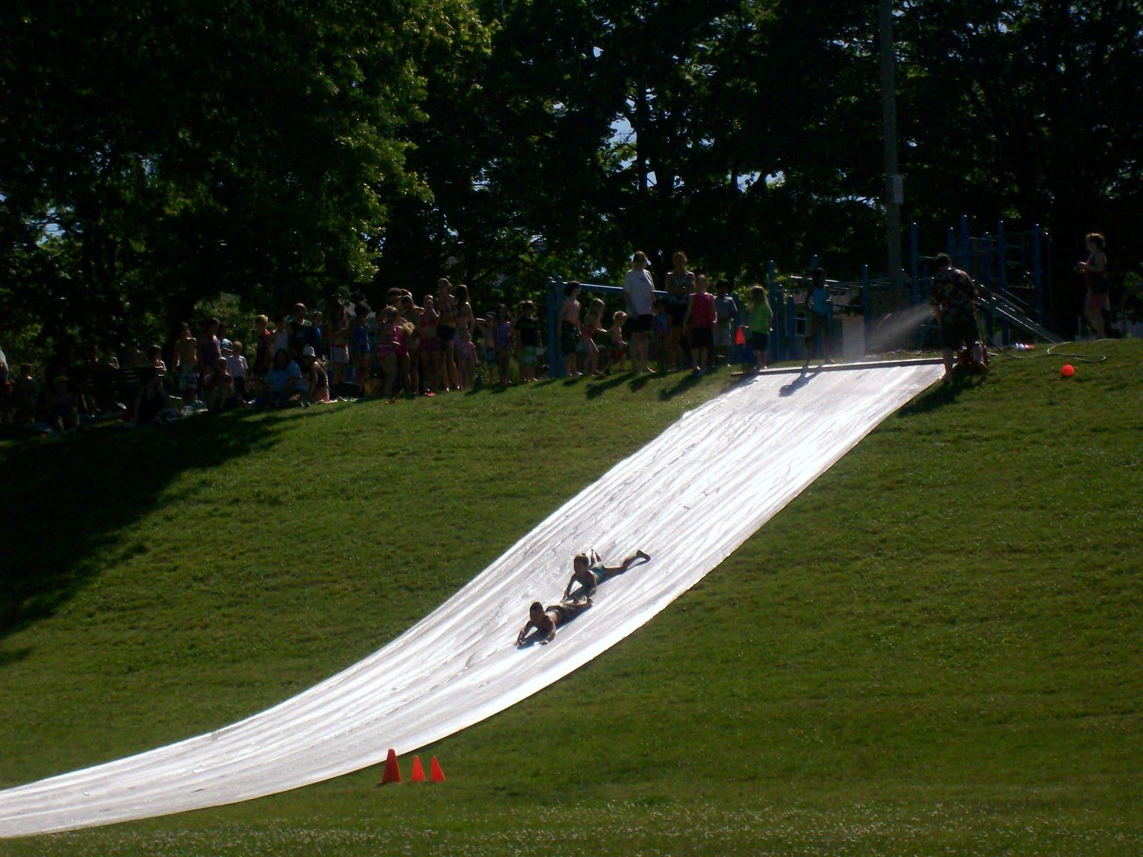 The Super Slip N' Slide @ Brooklyn Park